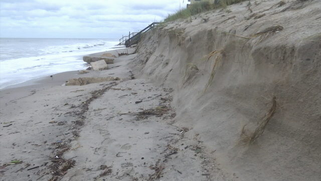 Brevard's initial assessment of Dorian beach erosion damages complete