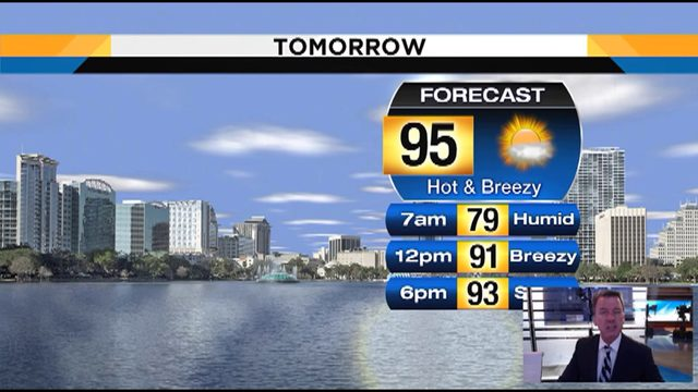 Heat Index to hit 100 on Saturday in Central Florida