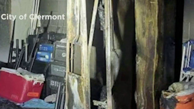 Fire inside Clermont high school damages marching band instruments