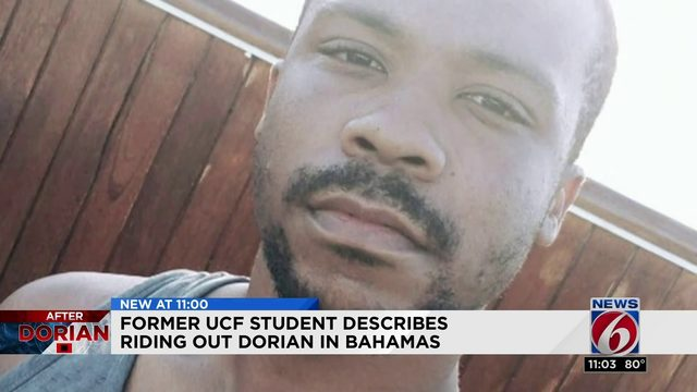 Former student describes riding out Dorian in Bahamas