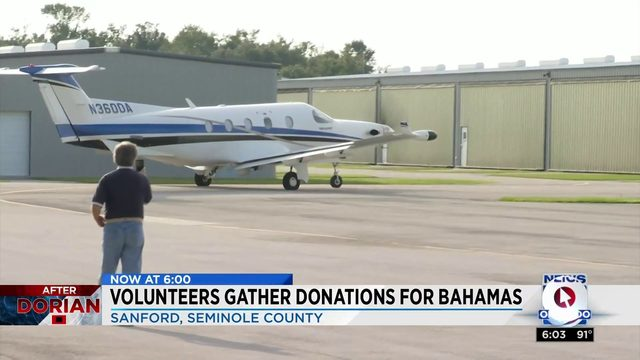 Volunteers Gather Donations for Bahamas