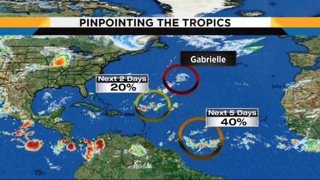 Staying hot, dry to close out the weekend, new area to watch in the tropics