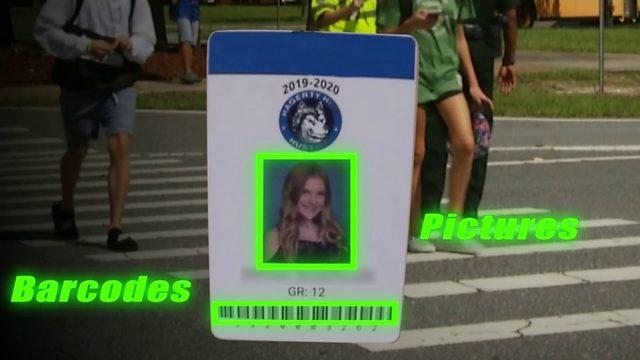 Schools testing mandatory ID badges