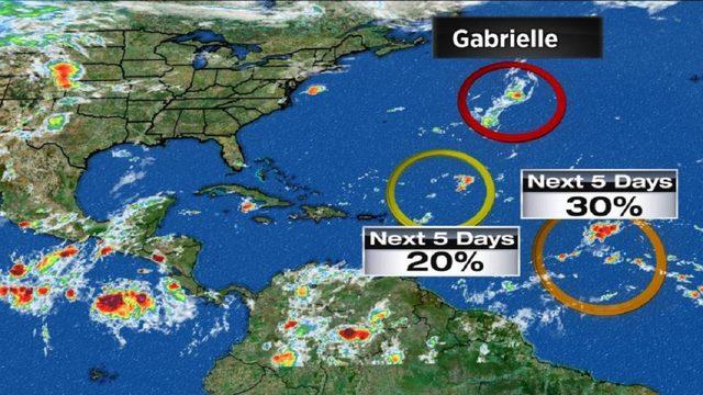 Tropics bubbling as peak of hurricane season nears