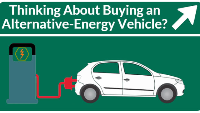 You've got lots of choices when it comes to alternative energy vehicles