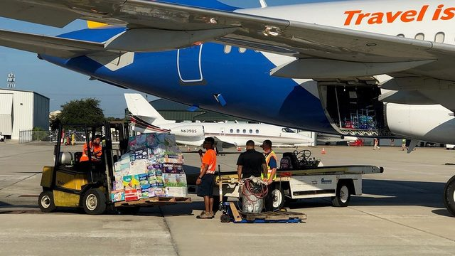 Massive relief mission underway to the Bahamas