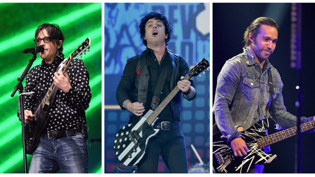 Green Day, Weezer and Fall Out Boy joining forces for massive tour