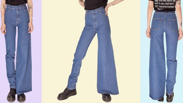 Asymmetrical jeans: What the Fashion is going on?