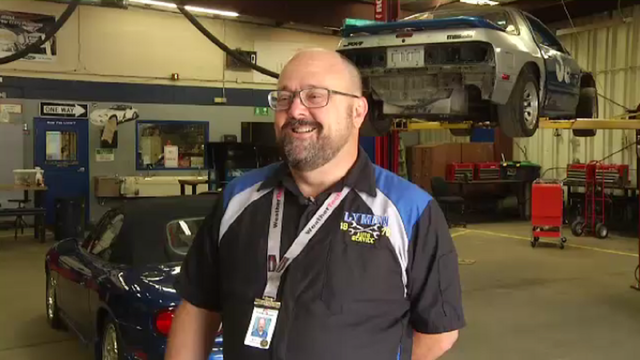 Automotive educator named semifinalist in teaching excellence contest