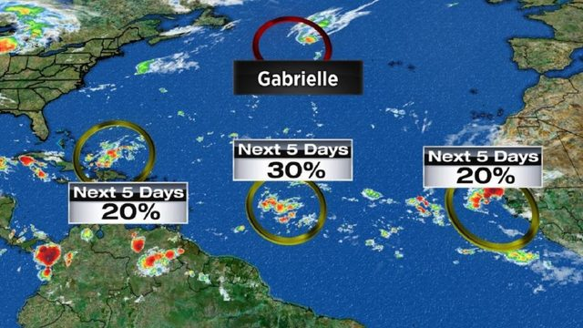 Rainmaker headed to Florida as systems swirl on peak of hurricane season