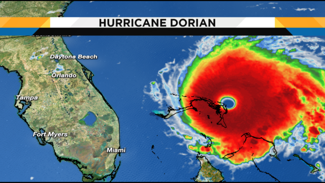 Could a hurricane ever sit on top of Florida like Dorian did the Bahamas?