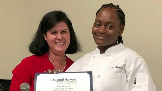 Culinary training program cooking up results