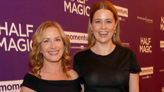 Jenna Fischer and Angela Kinsey, aka Pam and Angela, starting 'Office' podcast
