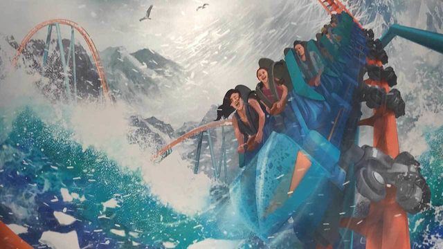 SeaWorld unveils new multi-directional hybrid coaster coming in 2020