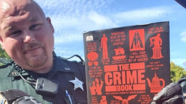 Couple takes page out of 'The Crime Book,' ends up behind bars