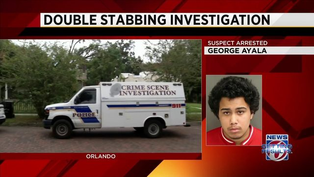 Man accused of stabbing 2 women in Orlando