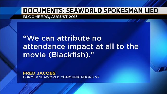 New documents show aftermath of 'Blackfish' on SeaWorld