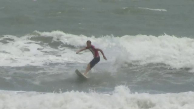 A weekend of big waves expected on Brevard County beaches