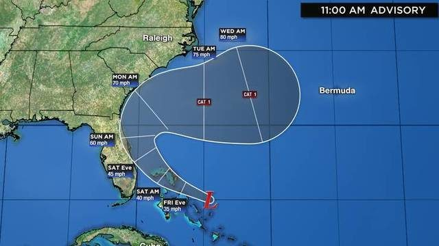Brevard, Volusia counties no longer under tropical storm watch