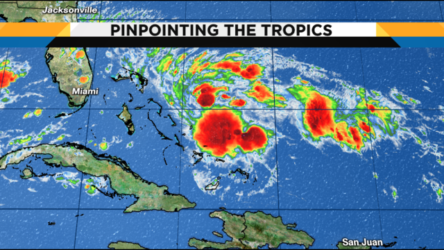 What is a potential tropical cyclone?