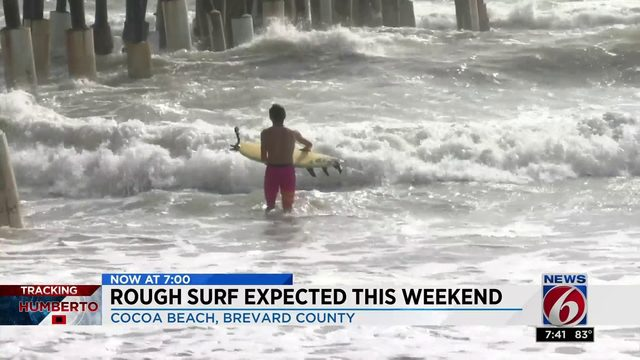 Rough surf expected this weekend
