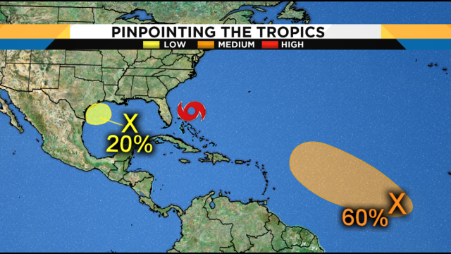 Tropics staying hot, quiet for Florida behind Humberto