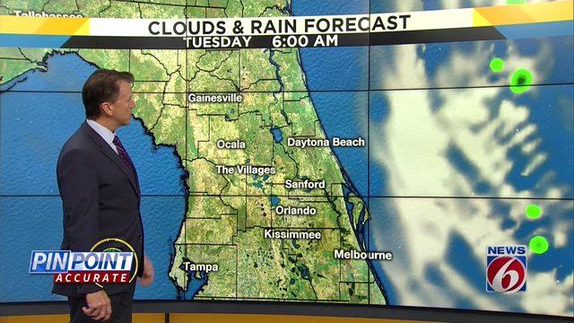 News 6 evening video forecast -- 9/16/19