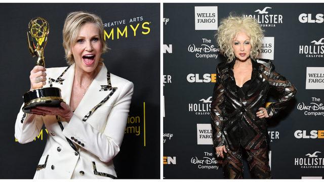Jane Lynch, Cyndi Lauper developing 'Golden Girls'-inspired show for Netflix
