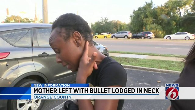 Bullet lodged in woman's neck days after Orlando shooting