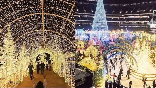 Tickets on sale for 'world's largest Christmas light maze' in Florida