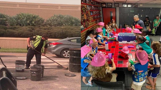 From cleaning up spills to earning Girl Scout badges, Orlando-area first…