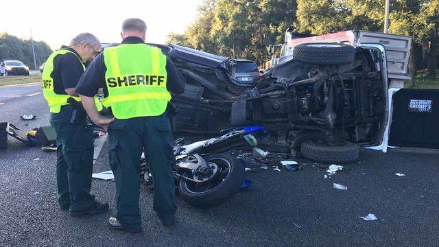 22-year-old motorcyclist killed in Polk County crash involving SUV