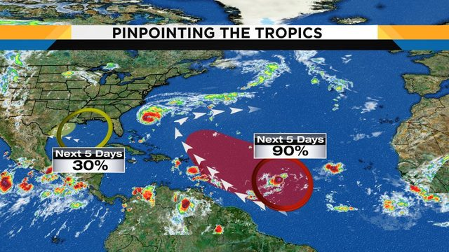 Here's the latest on the tropics and what it means for Central Florida