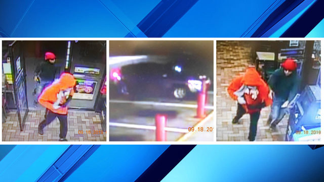 Volusia detectives share photos of men accused of robbing gas station