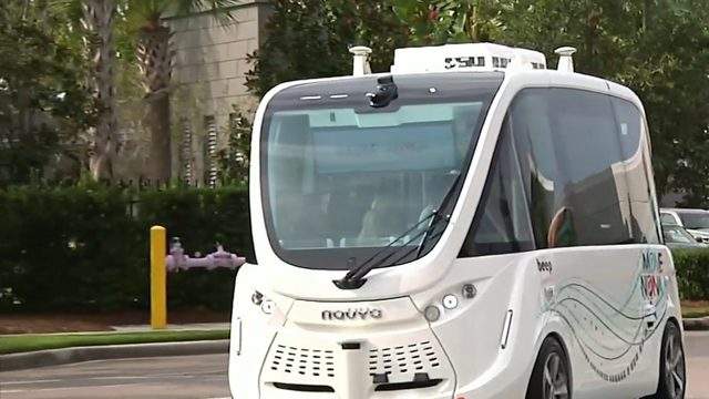 Orlando becomes first city in Florida to launch autonomous shuttles
