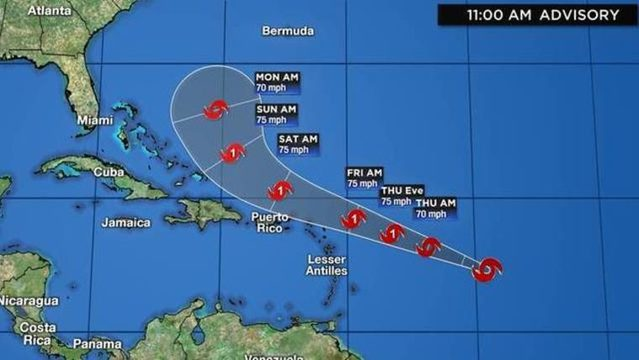 TRACK, MODELS: Jerry expected to strengthen into hurricane