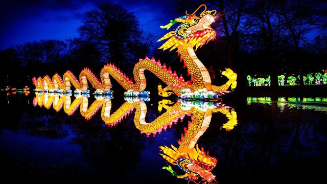 Central Florida Zoo lantern festival will feature 200-foot dragon