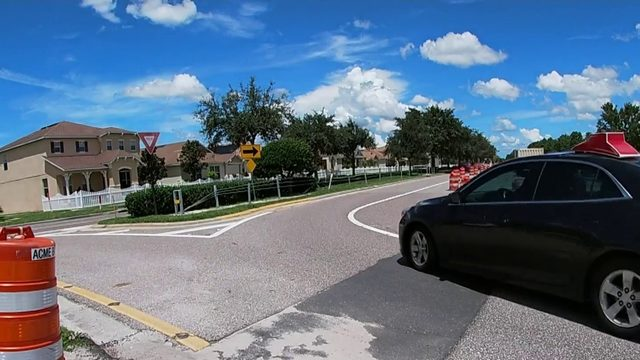 How County works to fix dangerous curve in Avalon Park