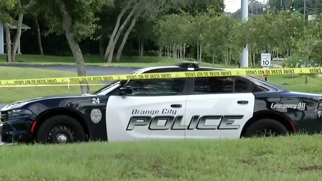 Orange City police officer shoots person in stolen vehicle