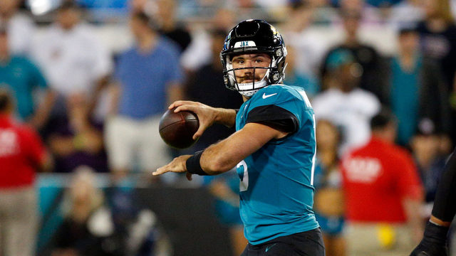 Minshew throws 2 TD passes in Jaguars win against Titans