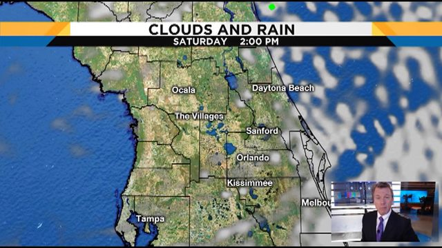Expect a blustery weekend in Orlando