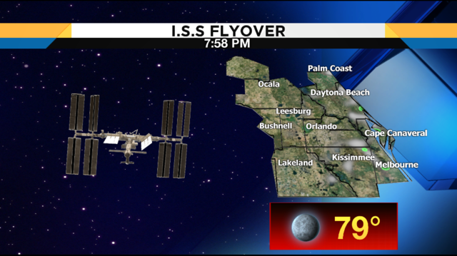 Another chance to see International Space Station on Friday