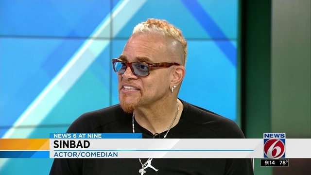 Sinbad performs this weekend at Orlando Improv