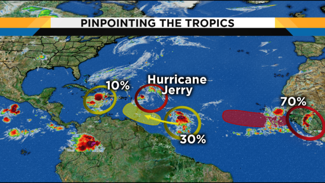 Here's how several systems in the tropics will impact Florida