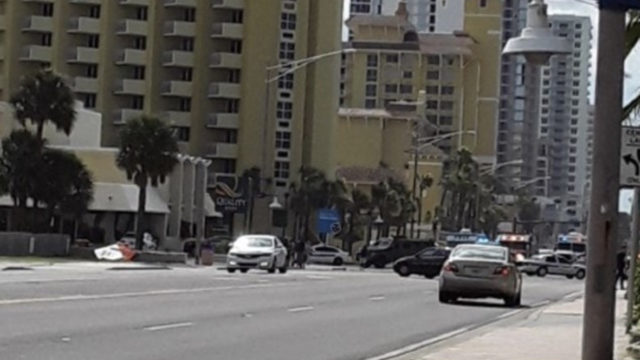 Man barricades himself inside Daytona Beach hotel room