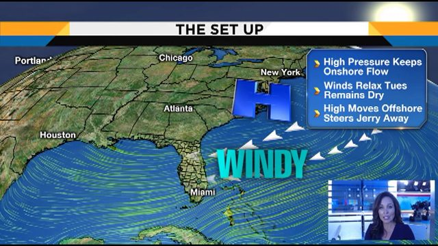 News 6 weather team pinpoints latest in tropics, windy Sunday ahead