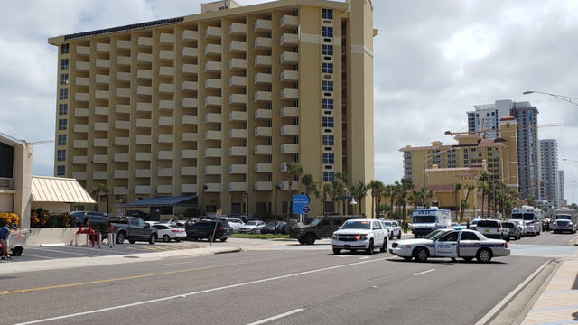 Standoff ends at Daytona Beach hotel