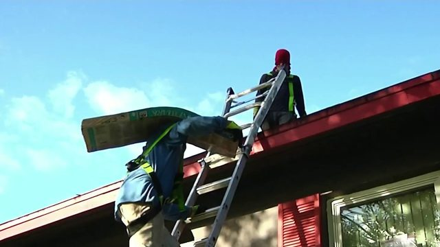 Nonprofit begins work to give Orlando seniors new roofs