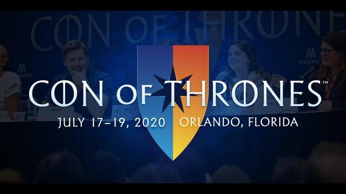Con of Thrones coming to Orlando in 2020