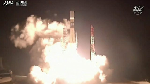 Rewatch Japan launch supplies to space station